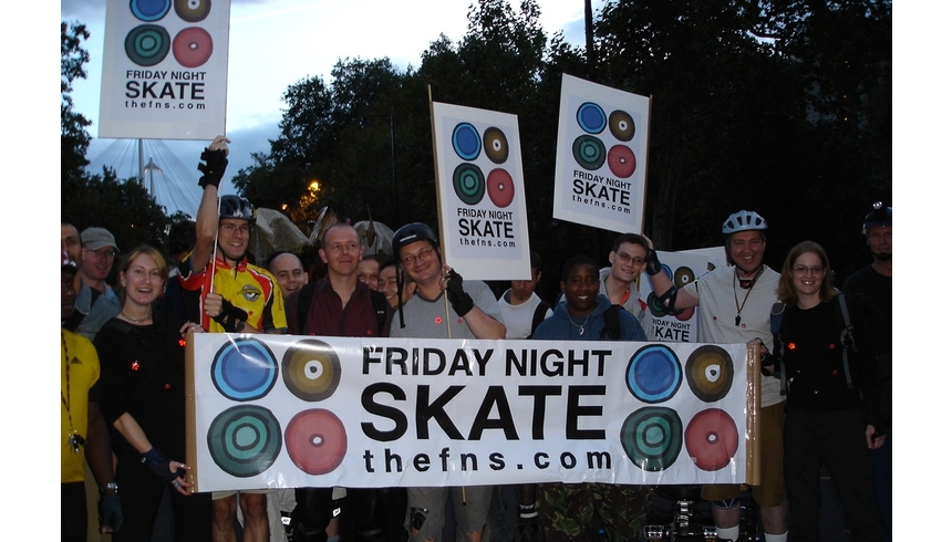 our neighbourhood hyde park friday night skate