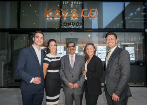 kay and co office launch kings cross medium