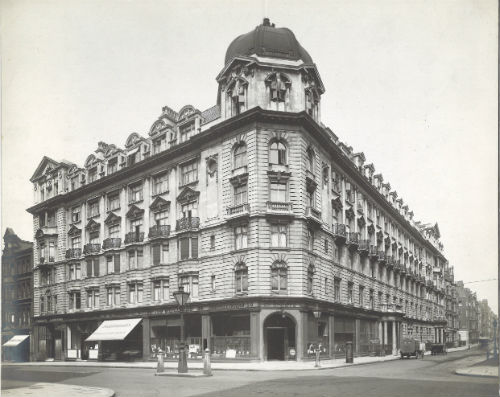 John Bell & Croydon, Wigmore Street, London W1U. Archive image courtesy of The Howard de Walden Estate.