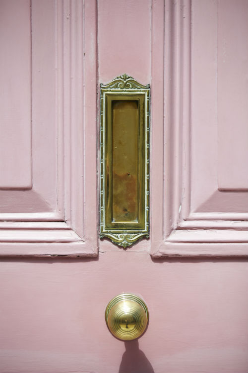 pink home door medium