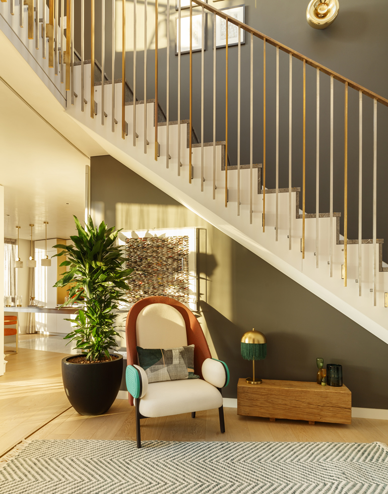 Interior Design stairs - Kay & Co